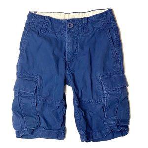 GAP navy blue cargo shorts